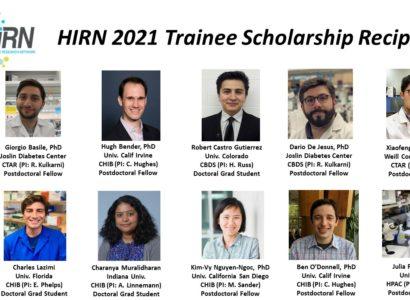 HIRN2021. Scholarship Recipients2